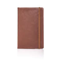 Medium Notebook Ruled Vitello Leather Flexible