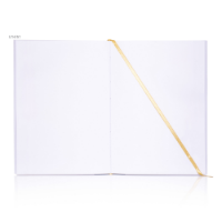 A5 Plain Paper Notebook White Book Block Only