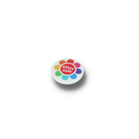 STAY SAFE BUTTON BADGE – 25MM CIRCLE