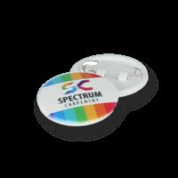 Recycled DBASE Badge 25mm Circular