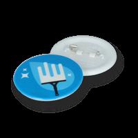 Recycled DBASE Badge 45mm Circular