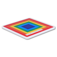 Recycled Deluxe Coaster Square