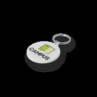 Recycled 45mm Circle Keyring