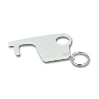 Anti-microbial Hygiene Hook Keyring-Unprinted