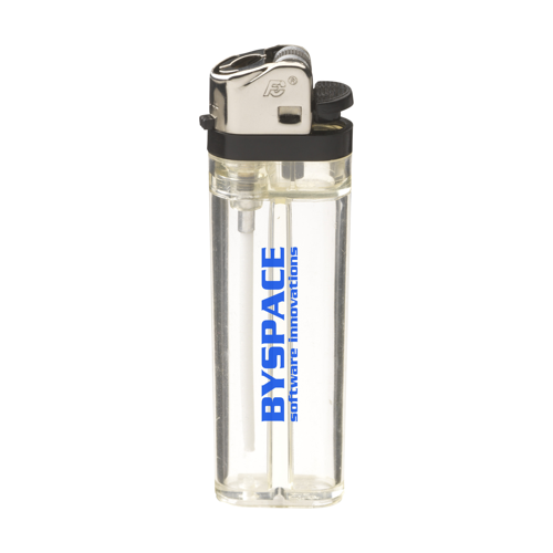 Transflint Lighter Transparent