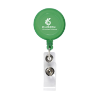 Badgeclip Badge Holder Transparent-Green