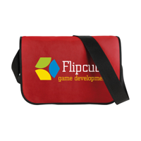 Postmanbag Shoulder Bag Red