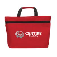 Promodoc Document Bag Red