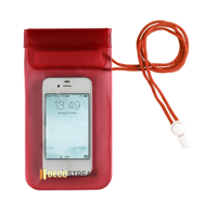 Waterproof Pouch Red