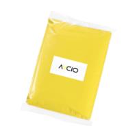 Clear Poncho/Raincoat Yellow