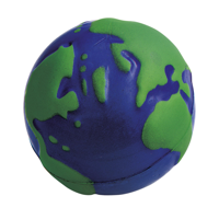 Stressglobe Ø 6.5Cm Stressball Blue