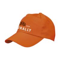 Uni Baseball Cap Orange