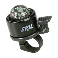 Direction Bicycle Bell/Compass Black