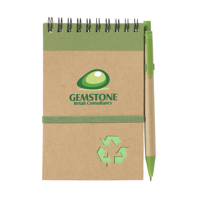 Recyclenote-M Notebook Green
