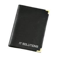 Car Document Wallet Black
