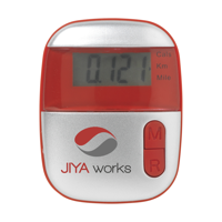 Steps Pedometer Red