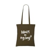 Shoppycolourbag Cotton Bag Brown