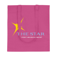 Shoppycolourbag Cotton Bag Pink