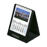 Desk Calendar Skyline Black