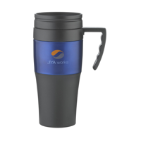 Solidcup Thermo Mug Black-And-Blue