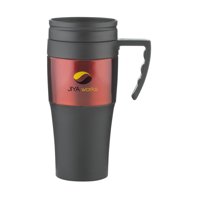 Solidcup Thermo Mug Black-And-Red