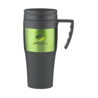Solidcup Thermo Mug Black-And-Green
