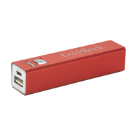 Powercharger 2600 Powerbank Red