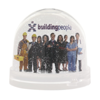 Snowpicture Paperweight Transparent