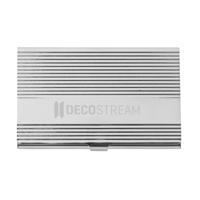 Carta Business Card Holder Silver