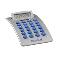 Streamline Calculator Blue