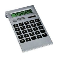 Deskmate Calculator Silver