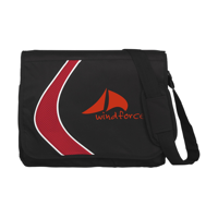Boomerang Document Bag Red