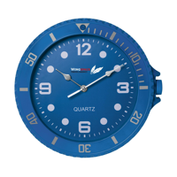 Watch-It Wall Clock Blue
