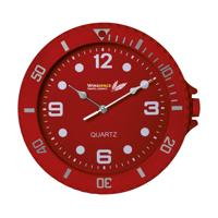 Watch-It Wall Clock Red