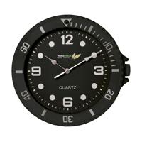 Watch-It Wall Clock Black