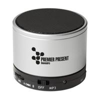 Boombox Speaker Silver