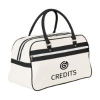 Retrosport Sports Bag White-And-Black
