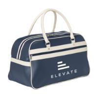 Retrosport Sports Bag Blue-And-Beige