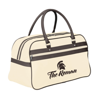 Retrosport Sports Bag Beige-And-Brown