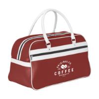 Retrosport Sports Bag Red-And-White