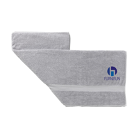 Atlanticbeach Towel Grey