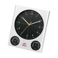 Topclock Wall Clock Silver