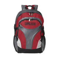 Tracker Backpack Red