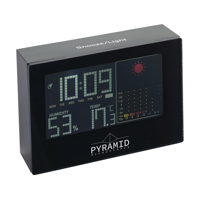 Weather Snooze Weather Station Black