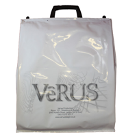 Clip-Close Carrier Bags, printed to one side