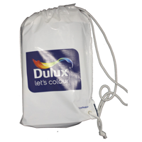 Polythene Duffle Carrier Bags - Printed 1 Side