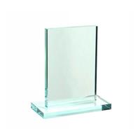 Small jade green trophy block
