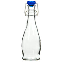 Small re-Usable flip top bottle