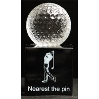Golfball trophy award