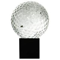 80mm golfball trophy